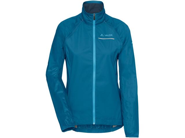 VAUDE Windoo Pro Zip Off Jacket Women kingfisher